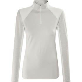 The North Face Motivation 1/4 Zip L/S Shirt Women TNF Light Grey Heather